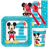 Mickey Mouse & Minnie Mouse Party Supplies & Decorations Red