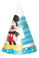 Disney Mickey Mouse 1st Birthday  Cone Hats