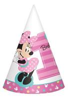 Disney Minnie Mouse 1st Birthday Cone Hats