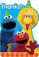 Sesame Street 2 -  Postcard Thank You