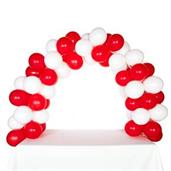 Celebration Tabletop Balloon Arch-Red & White