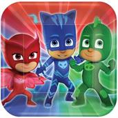 PJ Masks Dinner Plates (8)