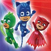 PJ Masks Lunch Napkins (16)