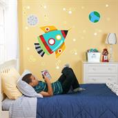Rocket Giant Wall Decal