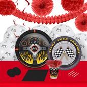 Racecar Racing Party 16 Guest Party Pack