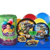 Monster Jam 16 Guest Party Pack and Helium Kit