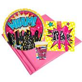 Superhero Girl Party Supplies & Decorations