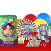 Carnival Games 16 Guest Party Pack and Helium Kit