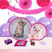 Rachaelhale Glamour Cats 16 Guest Party Pack