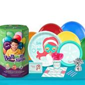 Little Spa Party 16 Guest Party Pack and Helium Kit