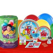 Cars, Trucks & Other Vehicles Party Kits