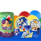 Sonic the HedgeHog 16 Guest Party Pack and Helium