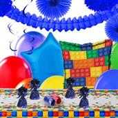 Building Block Party Deco Kit