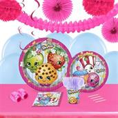 Shopkins 16 Guest Tableware & Deco Kit