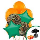 Camo Army Soldier Colorful Party Balloons, Numbered Balloons and Balloon Bouquets