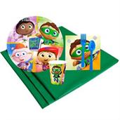 Super Why 8 Guest Party Pack