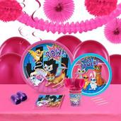 Super Hero Pets 16 Guest Tableware & Deco Kit