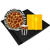 Safari Animal Adverture 8 Guest Party Pack