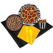 Safari Animal Adverture 24 Guest Party Pack