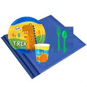 T-Rex 8 Guest Party Pack