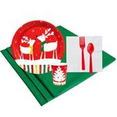 Reindeer Christmas Party 8 Guest Party Pack