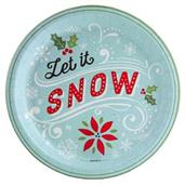 Let it Snow! Dinner Plate (8)