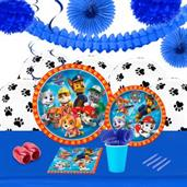 Paw Patrol Boy 16 Guest Tableware & Deco Kit