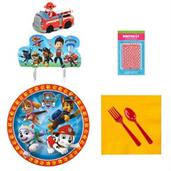 Paw Patrol Tableware and Cake Topper Kit