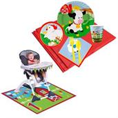 Barnyard Tableware & High Chair Kit