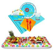 Pool Party Tableware & Cooler Kit