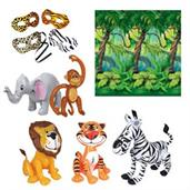 Jungle Time Inflatable Prop Kit