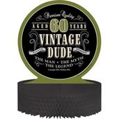 Vintage Dude 60th Honeycomb Centerpiece