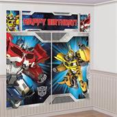 Transformers Scene Setter Wall Decorating Kit