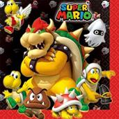 Super Mario Luncheon Napkins (16)