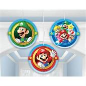 Super Mario Honeycomb Decorations (3)