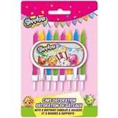 Shopkins Cake Decoration With 8 Candle