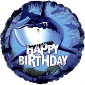 Shark Party Balloons