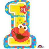 "Sesame Street 1st Birthday 28"" Balloon"