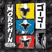 Power Rangers Ninja Steel Luncheon Napkin