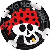 Pirate Birthday Cake Plates