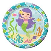 "Mermaid Friends 7"" Cake Plates (8)"