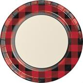 Lumberjack Plaid Party Supplies & Decorations