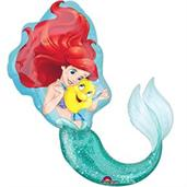Little Mermaid Friends Shape Balloon