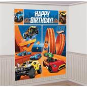 Hot Wheels Wild Racer Scene Setter Wall