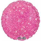 "Hot Pink Sparkle 17"" Balloon"