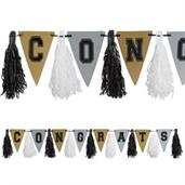 Graduation Metallic Tassel 10ft. Garland