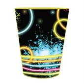 Glow Party 16 Oz Plastic Favor Cup