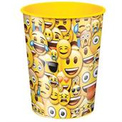 Emoji Smile 16oz Plastic Favor Cup (1)