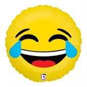 "Emoji Lol 18"" Balloon"
