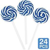 Blue Swirl 2 Lollipops (24)